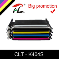 YLC toner cartridge CLT-K404S M404S C404S CLT-Y404S 404S compatible for Samsung C430W C433W C480 C480FN C480FW C480W printer