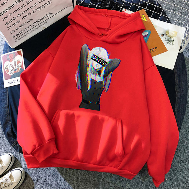 ZERO TWO DARLING IN THE FRANXX THEMED HOODIE