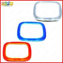 4D Front Rear Automobile LED Emblem Light Fit For Hon da Car Badge Logo Sticker Lamp DRL Secure Bulb Marker Lighting