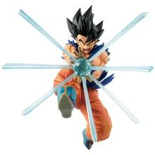 Tronzo Original Banpresto Dragon Ball Z GxMateria Goku Kamehameha PVC Figure DBZ Goku Black Hair Action Figure Model Doll Toys