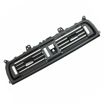 Comfortable Car Air Grille Black Auto Center AC Vent For BMW F10 F11 F18 5 Series 550i 535i image