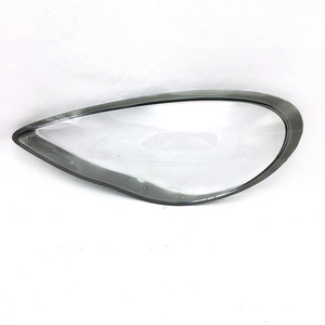 Image 2 - Car Headlight Lens For Porsche Panamera 2010 2011 2012 2013 Headlamp Lens Car  Replacement  Auto Shell Cover