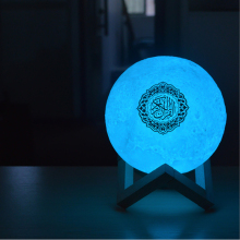 Bluetooth Speaker Colorful Remote Moonlight LED Night Light Wireless