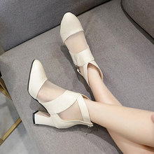 2020 New Style Chunky Heel Short Boots Female Round Head Mesh Breathable Liang Xue Zi Low Heel Martin Boots Female Trendy Shoes women autumn and winter new arrivals boots female martin bootsshoes female kitten heel chunky heel shoes and ankle boots classi