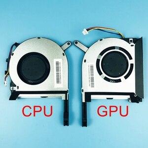 Новый оригинальный ноутбук процессор GPU охлаждающий вентилятор для ASUS Strix TUF gaming 6 FX505 FX505G FX505GE FX505GD FX505D FX505DT кулер
