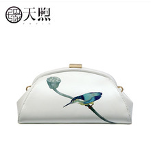 Pmsix Women Leather bag fashion cowhide bag brand luxury handbag women Clutch bag luxury handbag women bag designer shoulder bag decoration women handbag 2018 big luxury evening party clutch women s leather bag famous brand