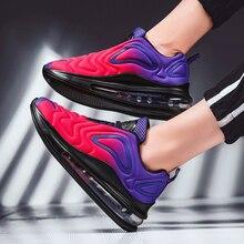 Sapatos femininos esporte tênis almofada de ar formadores sapatos mulher plataforma sapatilha outono inverno calçados respirável macio cesta femme