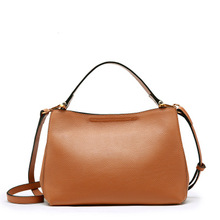 MZORANGE Genuine Leather Shoulder Bag Women top layer cowhide Messenger Bag Brand litchi pattern Handbags Fashion Crossbody стоимость