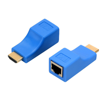 4K HDMI Extender HDMI Extension up to 30m Over CAT5e / 6 UTP LAN Ethernet Cable RJ45 Ports LAN Network hdmi extender transmitter tx rx adapter 30m hdmi network extender rj45 cat5e cat6 ethernet lan without hdcp