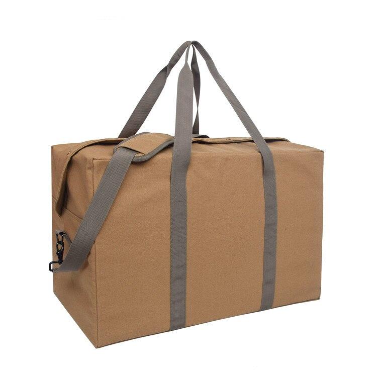 Большой объем мульти-функциональный Холст Дорожная сумка для хранения толстые Чемодан сумка Бизнес туда и обратно дома перемещение