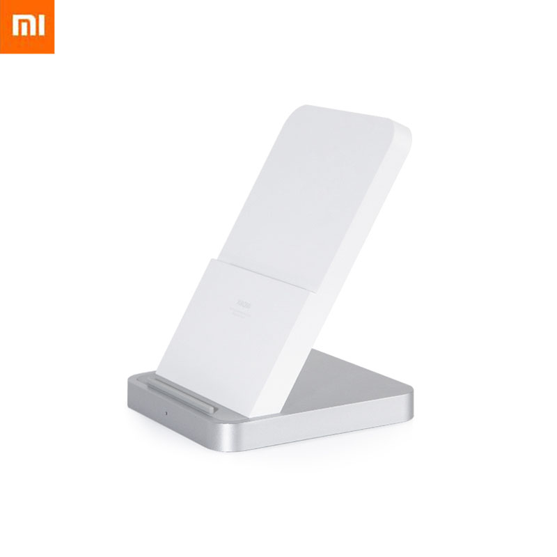 Original Xiaomi Mi Wireless Charger 30W Vertical Air Cooled Holder Charger For Xiaomi 10 9 Pro For Iphone 11 Chargers  - AliExpress