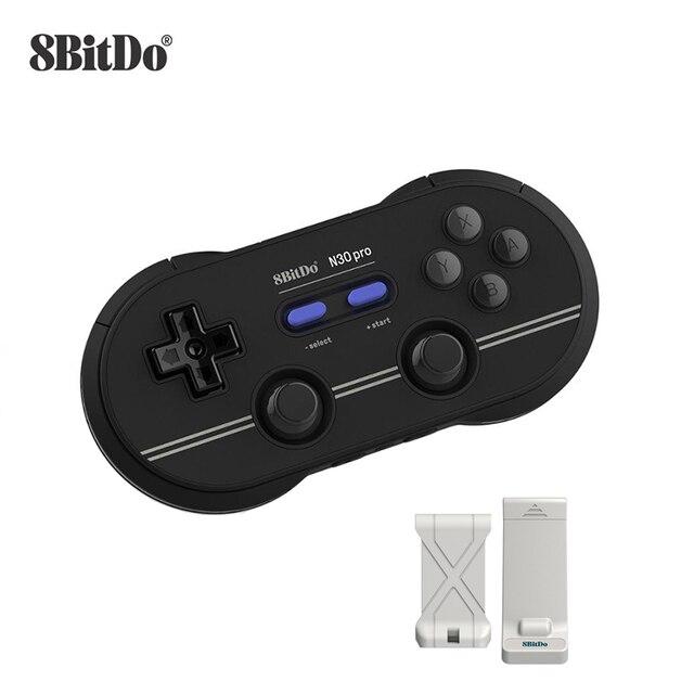 8 Bitdo N30 Pro2 Bluetooth Draadloze Gamed Controller Voor Schakelaar Windows Macos Stoom Android Raspberry Pi
