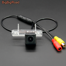BigBigRoad For Mercedes Benz CLC Class 160 180 220 350 2008-2011 SLK R171 2004-2011 Wireless Rear View CCD Camera HD Color Image