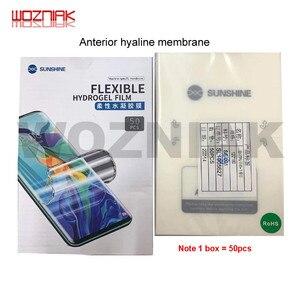 SS-890C Sunshine автоматическая машина для резки пленки на мобильный телефон планшет Передняя стеклянная задняя крышка Защитная пленка инструмен...