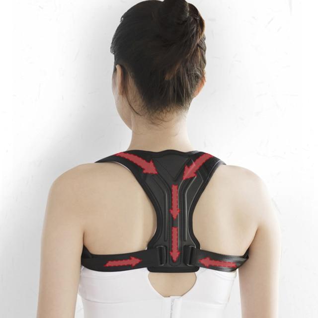 Adjustable Posture Corrector Back Support Shoulder Back Corset Posture Correction Spine Postural Corrector Health Fixer Tape 2