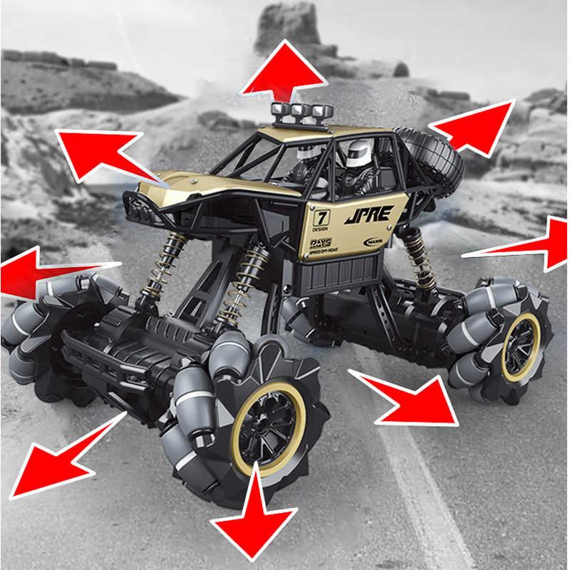 1:16 RC araba 4WD radyo kontrol dublör araba jest indüksiyon büküm Off-Road araç sürüklenme oyuncak yüksek hızlı tırmanma RC araba