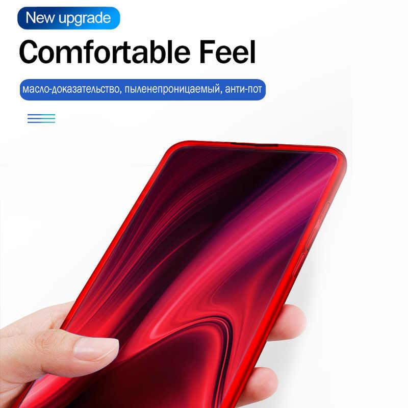 360 Full Bao Da Bảo Vệ Ốp Lưng Điện thoại Xiaomi Redmi Note 5 6 4 7 Pro Ốp Lưng Xiaomi Redmi K20 Pro 7A 5A 6A 4X S2 Ốp Lưng Có Kính