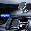 360 Универсальный магнитный автомобильный держатель для телефона на вентиляционное отверстие для iphone X 11 8 7 Xiaomi Samsung магнитный автомобильный ...