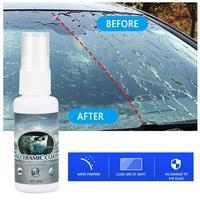 Glass Hydrophobic Coating For Safe Driving Car Wash Maintenance Window Repair 30ml Car Glass Rainproof Agent Nano 3