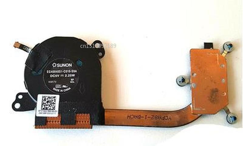 Original For  IdeaPad Yoga 3 Pro 13-1370 Fan Cooler Heatsink AT0TA001SS0 EG40040S1-C010-S9A Free Shipping