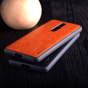 Image 5 - Case for Xiaomi Mi 9t redmi K20 pro funda Luxury Vintage leather litchi skin cover TPU + PC phone case for xiaomi mi 9t mi9t