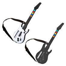 Wireless Controller with Adjustable Strap for Wii Guitar Hero Rock Band 2 3 Games  Remote Gamepad Joystick Console