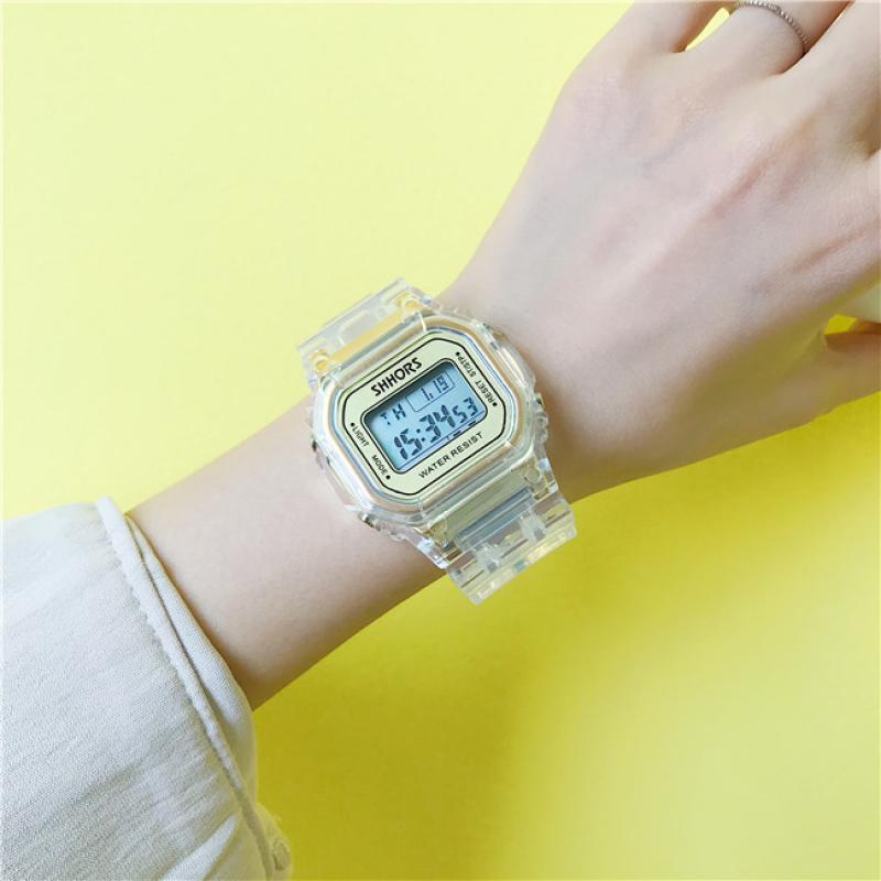2019 Women Wrist Watches Luxury Analog Digital Military Sport LED Waterproof Watch for Montres Femme Relojes De Muje