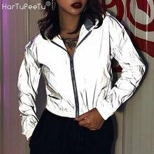 Женская Светоотражающая светозащитная куртка для бега в стиле