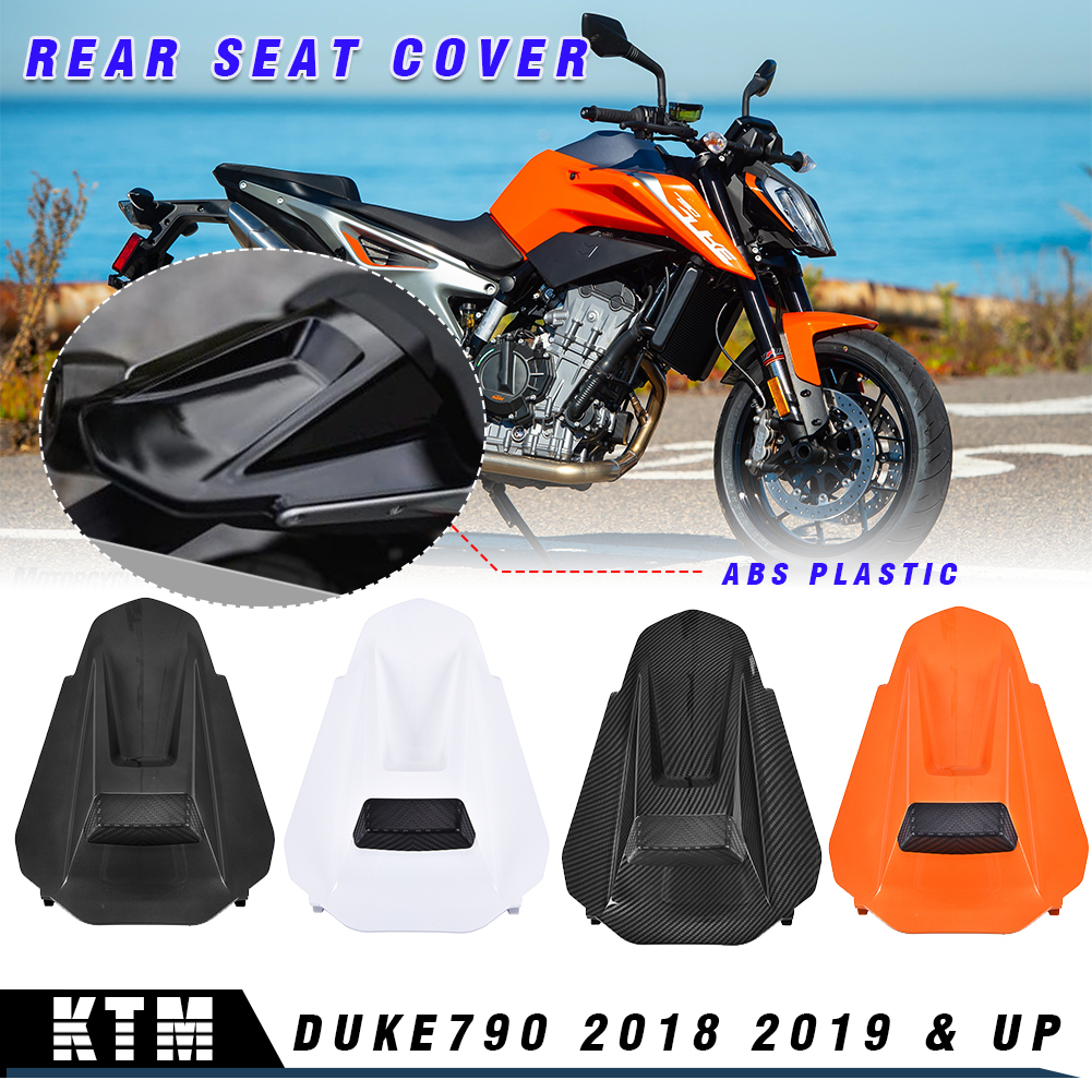 Motorcycle 18 19 Duke790 Plastic Rear Passenger Seat Fairing Cover Cowl Tail Cover for KTM Duke 790 2018 2019 & Up Accessories
