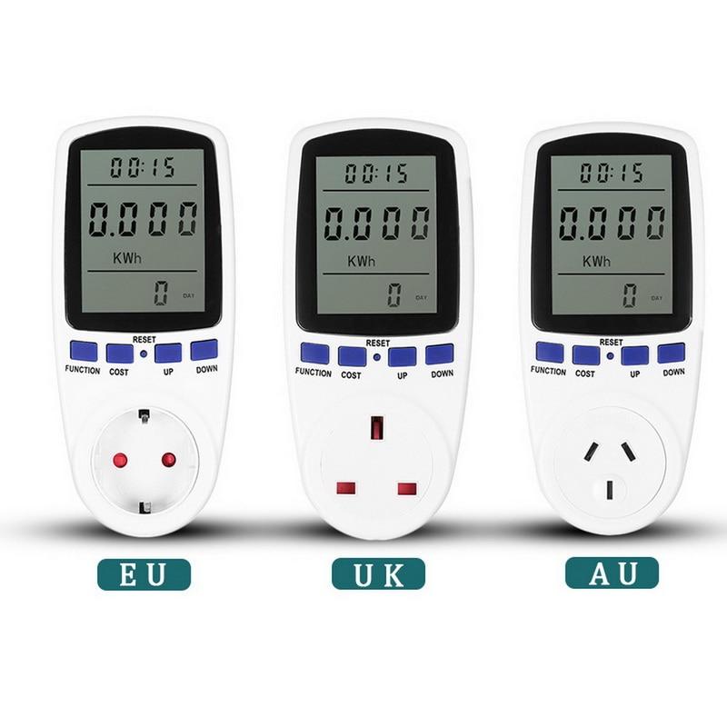 Мощность разъем измерителя производителем электрических Счетчиков Электроэнергии мониторов EU/US/UK штепсельная вилка австралийского станд...