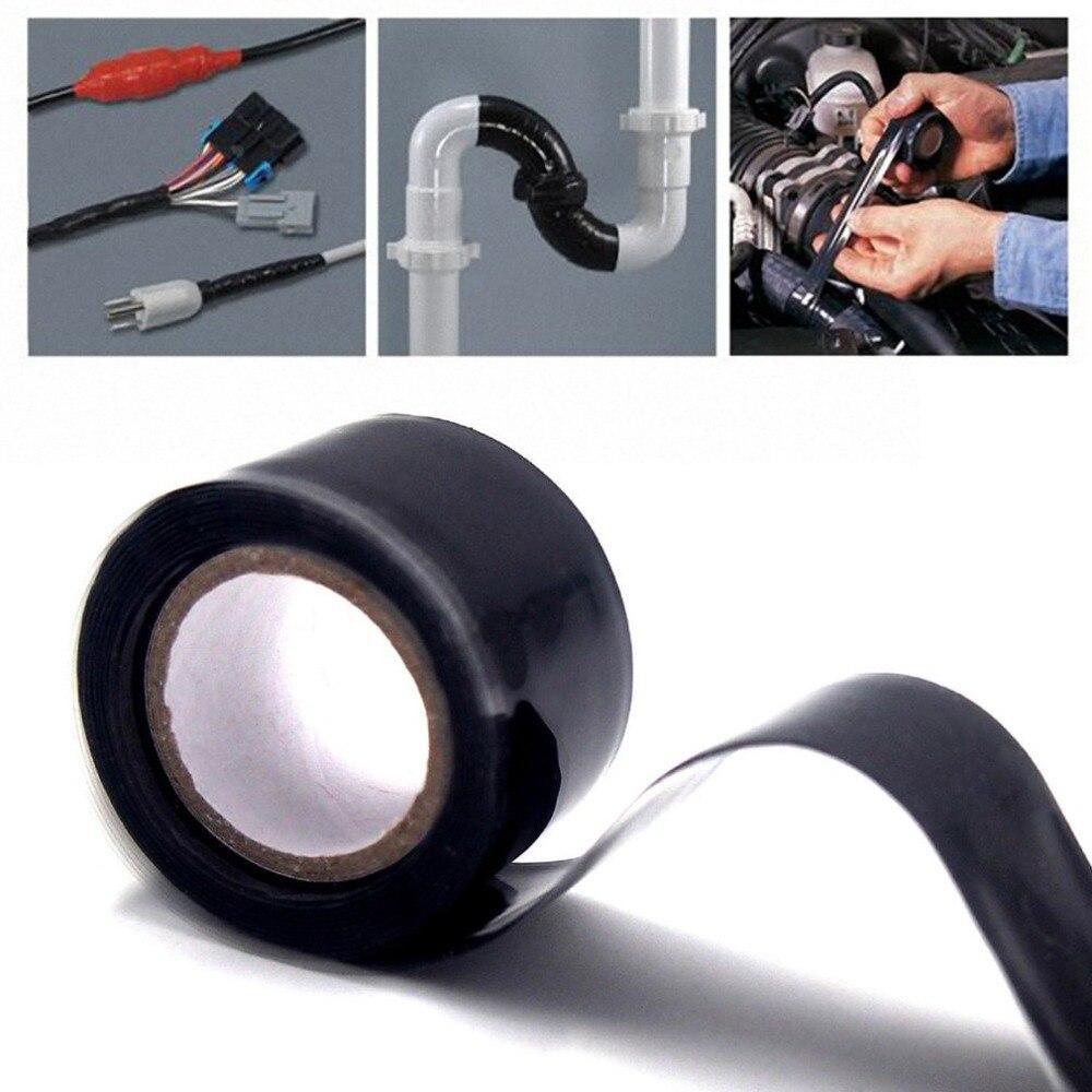 Waterproof Silicone Repair Tape Practical Self-Adhesive Repair Bonding Fusing Rescue Tape Wire Hose Tape