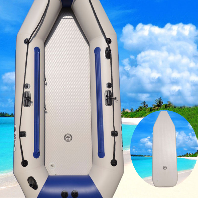 For 2-6 Person 157-214cm PVC Wear-resistant Inflatable Deck Drop Stitch Foldable Inflatable Boat Bottom Air Deck