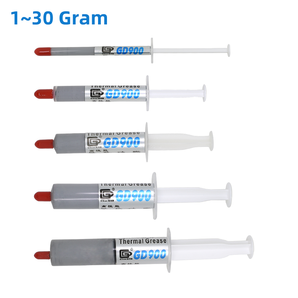 GD900 1/3/5/7/15/30g Thermal Grease Processor CPU Cooler Cooling Thermal Paste Compound Heatsink Plaster Paste