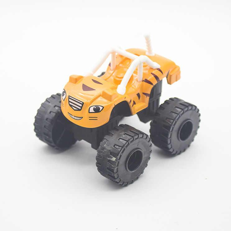 Machines voiture jouets russe Miracle concasseur camion véhicules Figure jouets pour enfants anniversaire Diecasts cadeaux enfant jouets