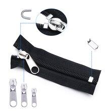 84 шт. спасательный Универсальный комплект одежды на молнии сменный слайдер сумка палатка куртка швейная одежда нескользящий инструмент для ремонта рукоделие