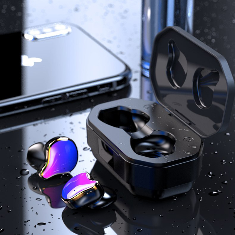 G01 TWS Power Display Bluetooth 5.0 HiFi Stereo Wireless Earphones Handsfree Headphone Sport Earbuds Wireless In ear Earbuds|Bluetooth Earphones & Headphones| |  - title=