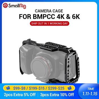 SmallRig BMPCC 4K / 6K Camera Full Cage for Blackmagic Design Pocket Cinema Camera 4K & 6K (New Version) 2203B smallrig bmpcc 4k cage dslr camera blackmagic pocket 4k 6k camera for blackmagic pocket cinema camera 4k 6k bmpcc 4k 2203b