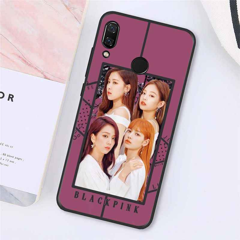 Babaite黒ピンクk-ポップblackpink kpop電話ケースxiaomi Redmi8 4X 6A 7A 9 redmi 5 5 プラスNote5 7 Note8Pro