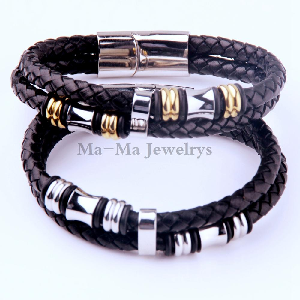 Stainless Steel Bracelet Men S Pu