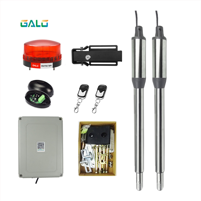 Electric Linear Actuator AC to DC Engine Motor System Automatic Swing Gate Opener with Gate door Electronic locks Optional