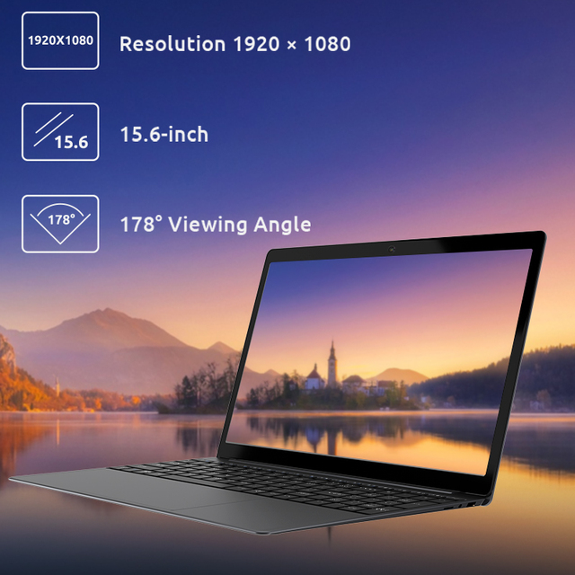 Bmax x15 15.6 Polegada portátil intel 4120 cpu quad core windows10 notebook 1920*1080 8gb ram 128gb rom duplo wifi hdmi usb gamelaptops 2