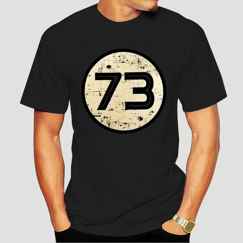 73 логотип-Мужская футболка-Шелдон-TV 1973 - 10 цветов-S-XXL-бесплатно UK PP крутая Повседневная футболка pride для мужчин унисекс Новинка 0442K