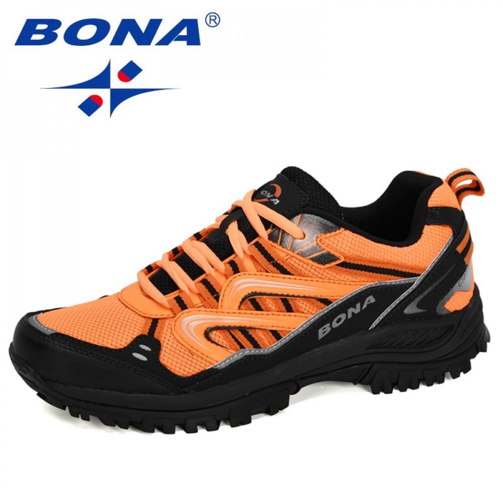BONA – chaussures de randonnée pour hommes, baskets de plein air, de sport, de chasse, de tourisme, de créateurs populaires, nouvelle collection 2020