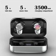 Bluetooth イヤホン新 airdots tws A6 プロワイヤレスヘッドフォンスポーツイヤフォンを充電ボックス 3500 スーパー低音の音質