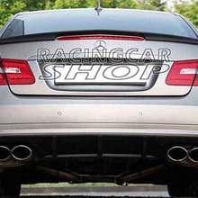Неокрашенный A Style задний багажник спойлер загрузки подходит для Benz E-CLASS W207 C207 A207 2DR купе 2010UP M039F