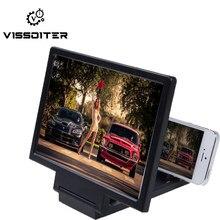 Amplificador de tela de celular dobrável, lente de aumento portátil universal para tela de celular, expansor para aparelho celular