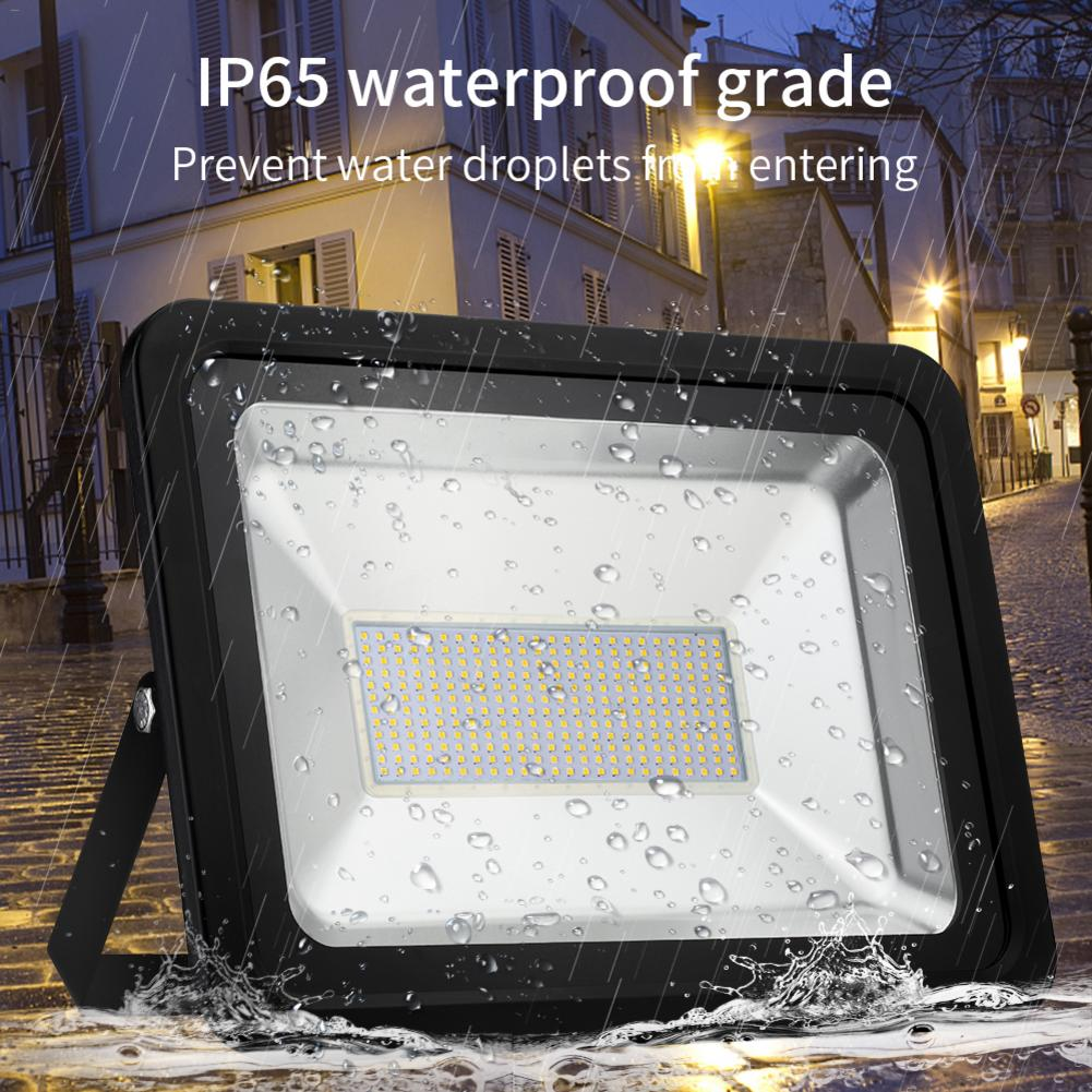 LED Flood Light IP65 Waterproof 200W 220V Flood Light Spotlight Outdoor Wall Lamp Garden Street Projector Lighting