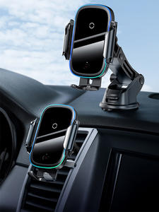 Baseus Car-Mount Charging-Charger Car-Phone-Holder Intelligent Infrared Fast Wireless
