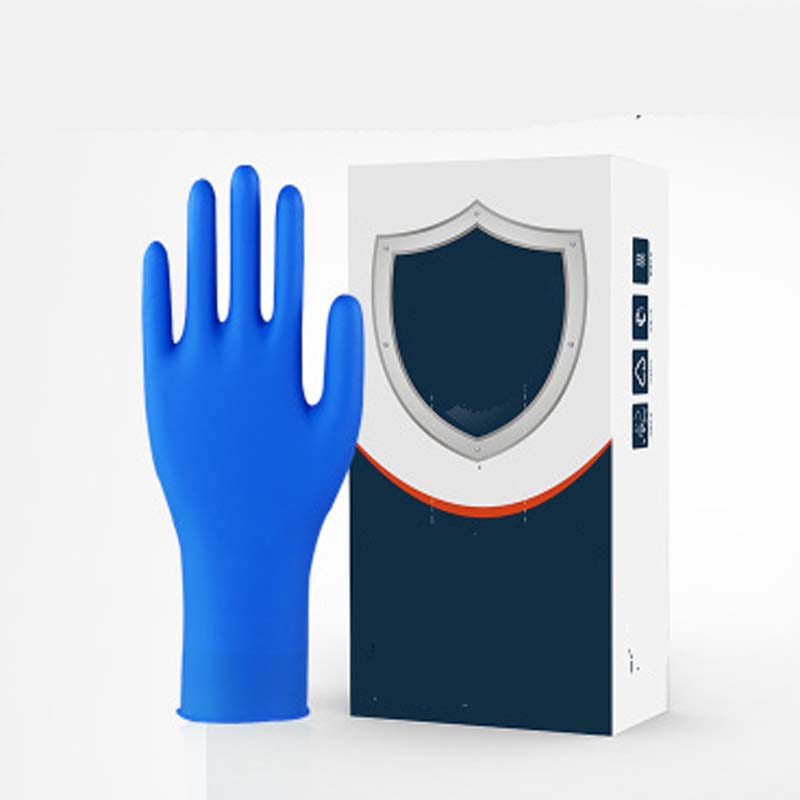 Disposable Rubber Gloves Thick Durable Transparent Protective Gloves