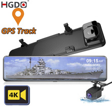 Parking-Monitor Rear-View-Mirror-Camera Dash-Cam IMX415 HGDO DVR Gps-Video-Recorder Car